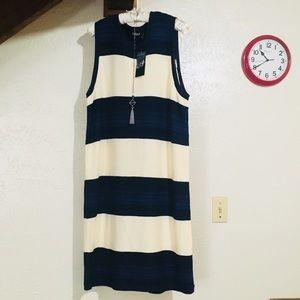 Lauren striped sweater dress